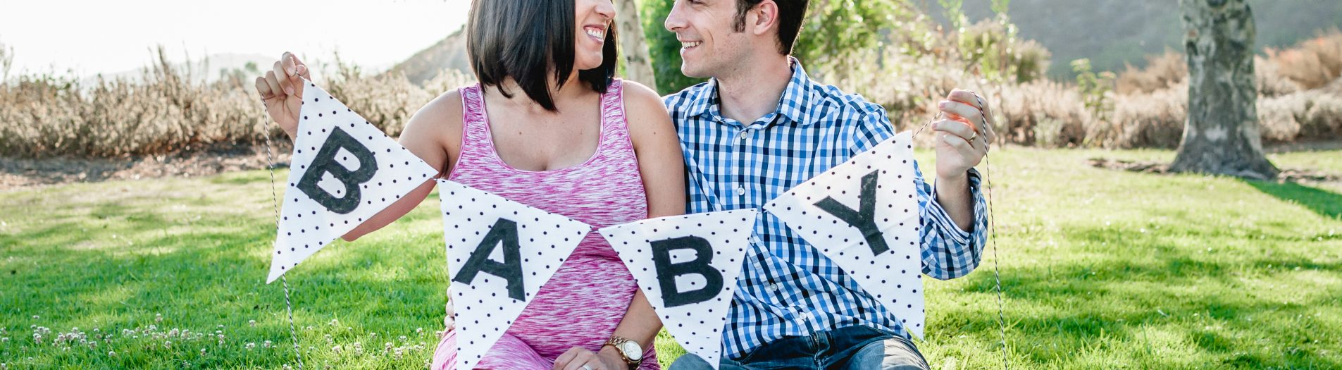 A baby reveal