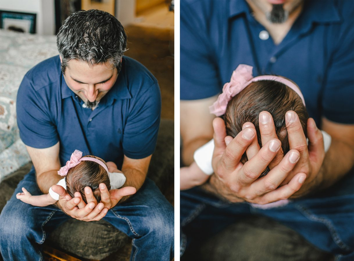 San Diego Lifestyle Newborn and Family Session