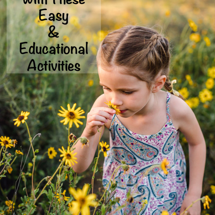 Spark Learning At Home With These Easy & Educational Activities